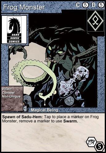 frog-monster